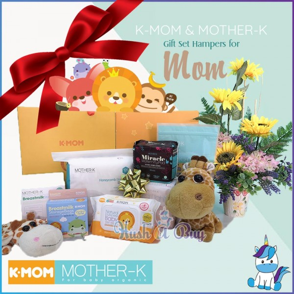 K-MOM & MOTHER-K Gift Set Hampers for Mom