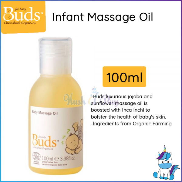 Buds Cherished Organics - Infant Massage Oil 100ml