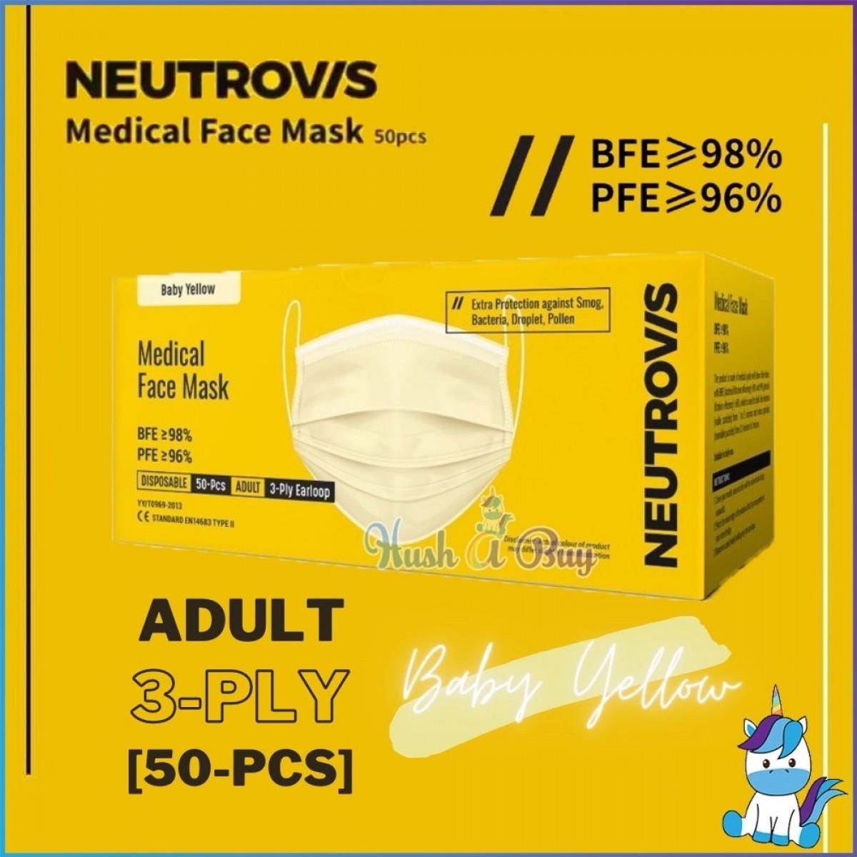 Neutrovis Medical Face Mask 50pcs