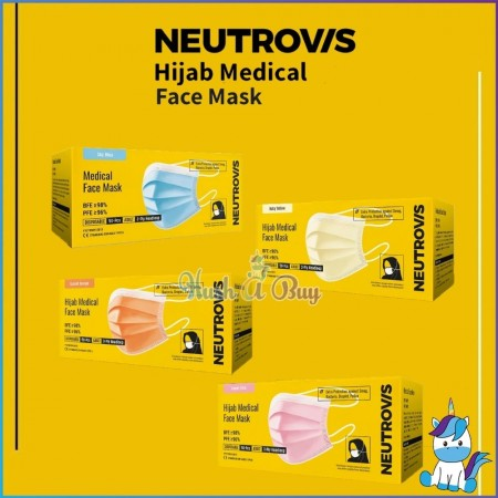 Neutrovis Hijab Medical Face Mask 50pcs