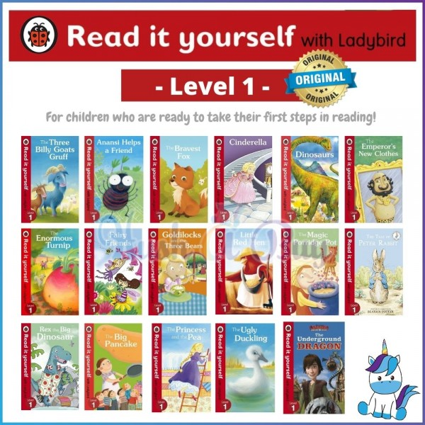 Ladybird Read It Yourself Level 1 (For 4-8 Years)