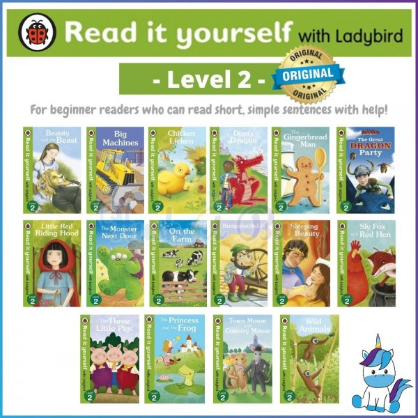 Ladybird Read It Yourself Level 2 (for 5-6 Years)