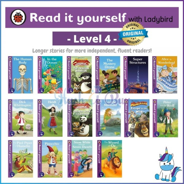 Ladybird Read It Yourself Level 4