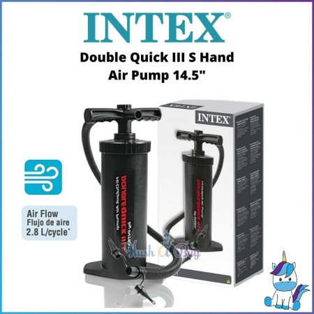 INTEX Double Quick III S Hand Air Pump 14.5""