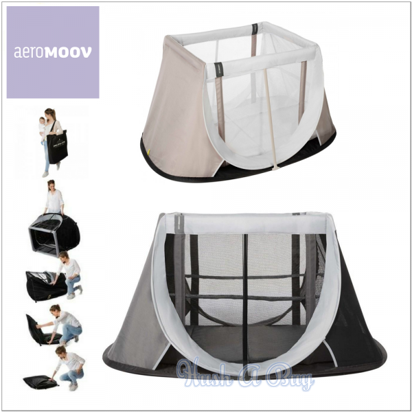 AeroMoov Instant Travel Cot with Mattress (FREE GIFT)