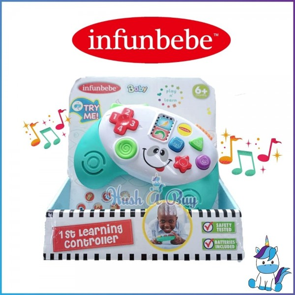 Infunbebe Play N Learn First Learning Controller (Animal) for 6m+