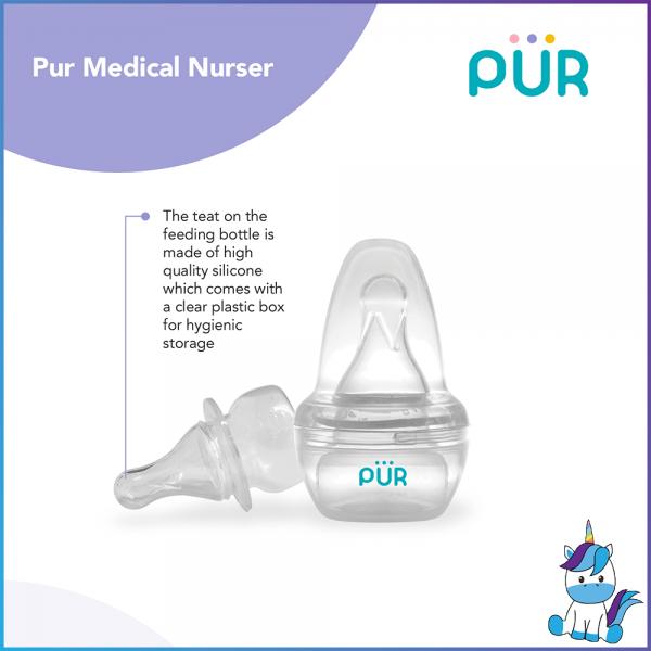 PUR Breastmilk / Medicine Nurser With Storage Box