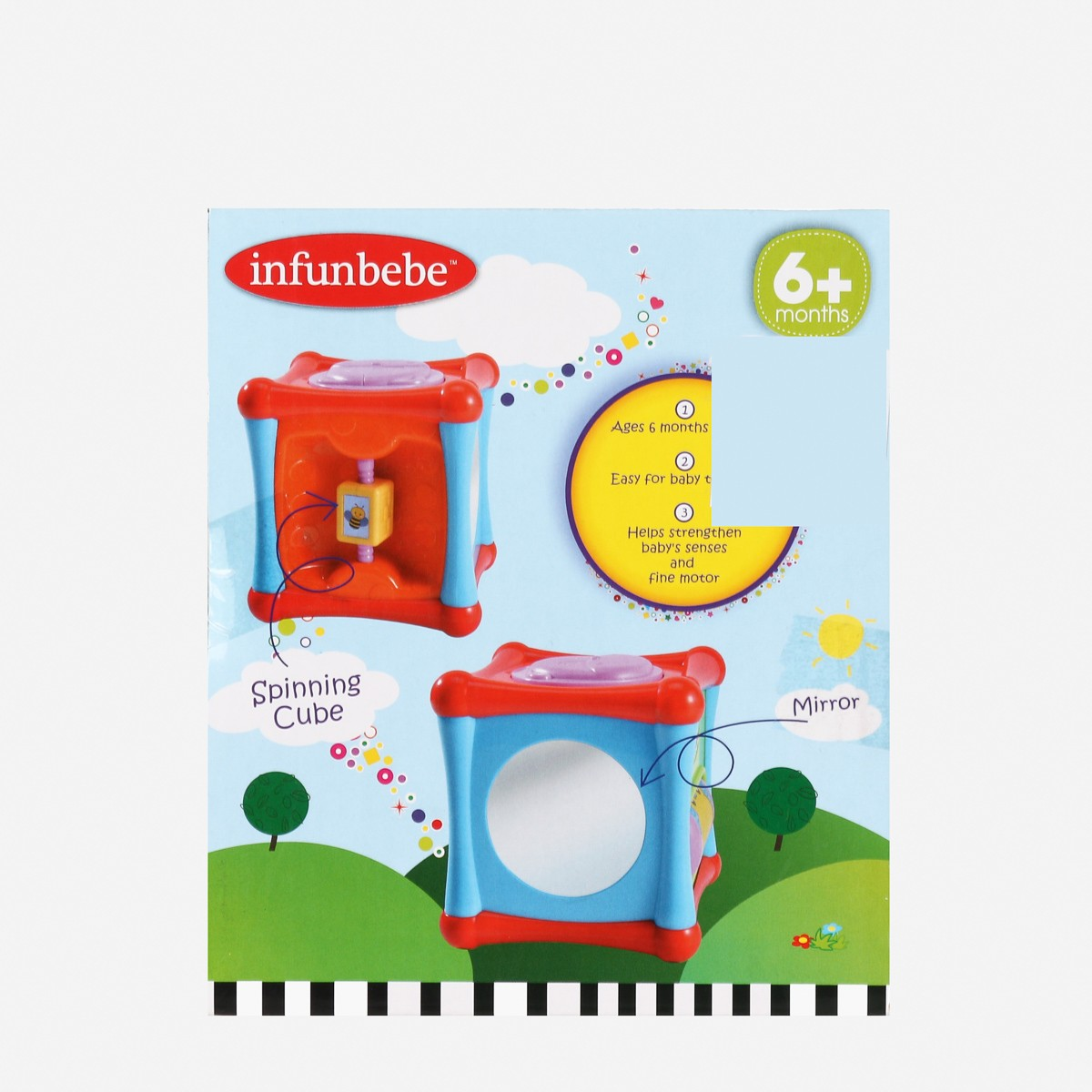 Infunbebe My First Activity Cube Toys for 6m+