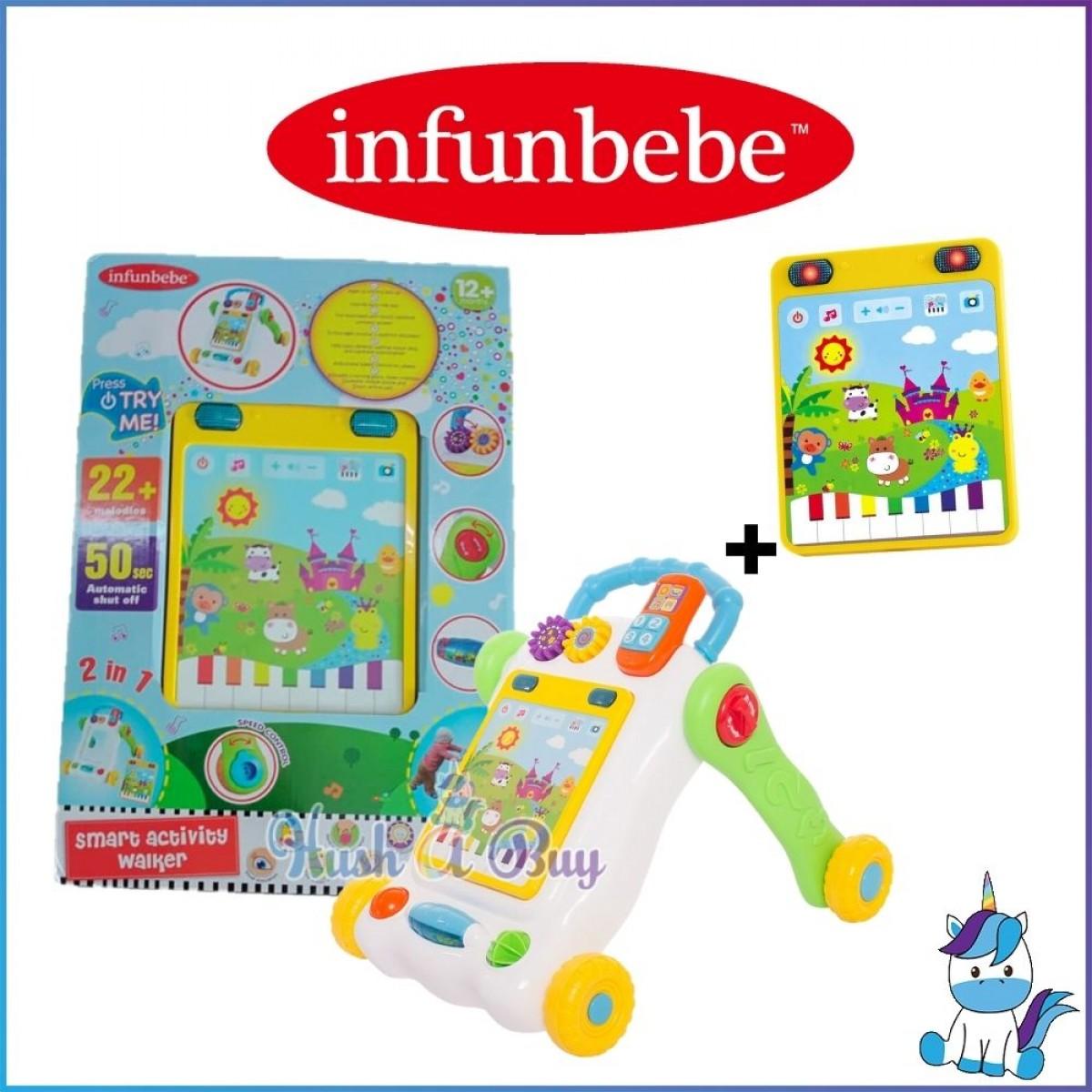 Infunbebe Activity Walker for Children 12m+ : Shape Sorter / Ball Run / Smart Activity