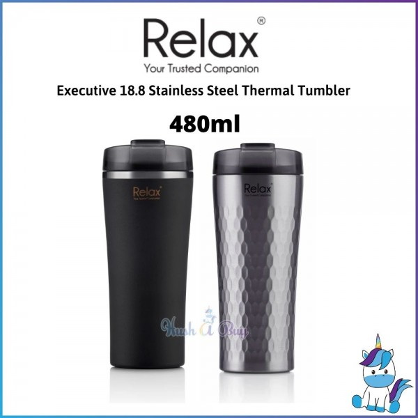 Relax Executive 480ml 18.8 Stainless Steel Thermal Tumbler