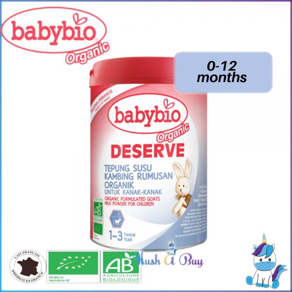 Babybio Deserve Formulated Goat Milk for Children 1 – 3 years 900g