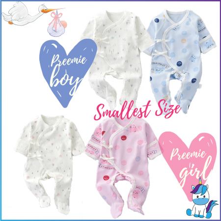 Premature Baby Clothes for 1-2kg / 2-4kg Extra Small and Extra Soft for Preemie