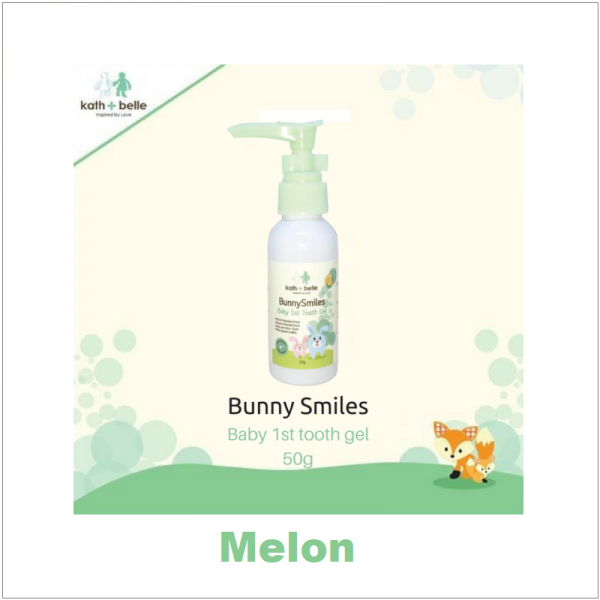 Kath + Belle Bunny Smiles Kids Tooth Gel