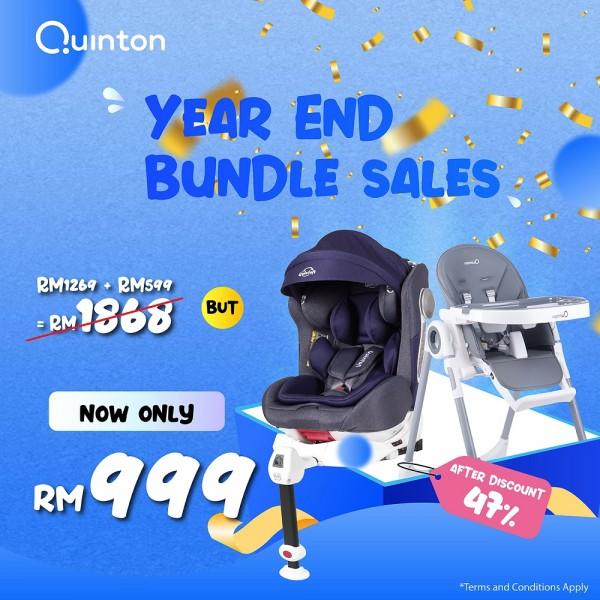 Quinton Onespin Car Seat + Quinton Coco Highchair