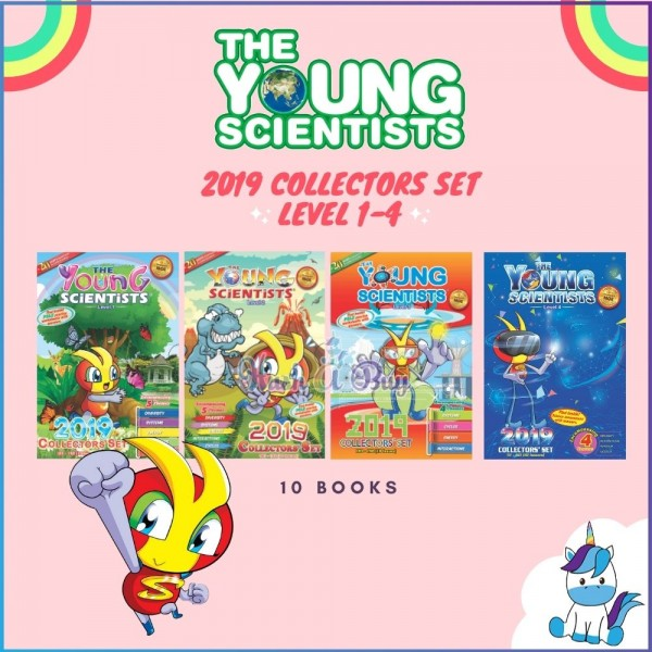 The Young Scientists Collectors Set Level 1, 2, 3, 4