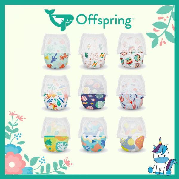 Offspring Fashion Chlorine-Free Diapers Pants M 42/ L 36/ XL 30/ XXL 24