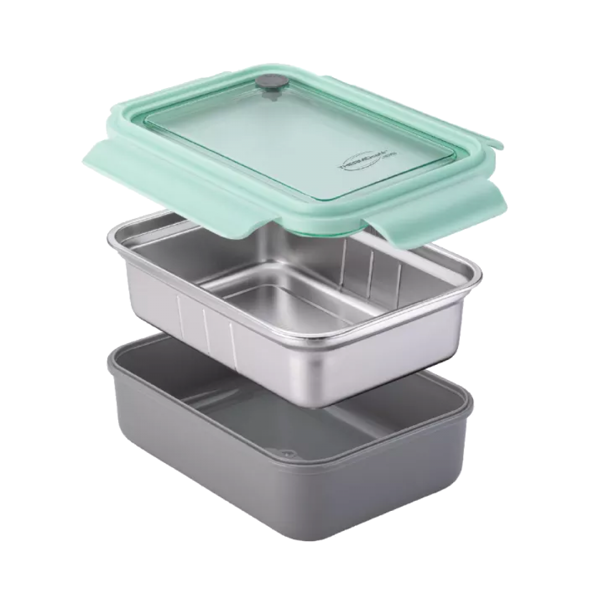 Thermocafe 1000ML / 1300ML Two Layer Stainless Steel Lunch Box / Bento Box