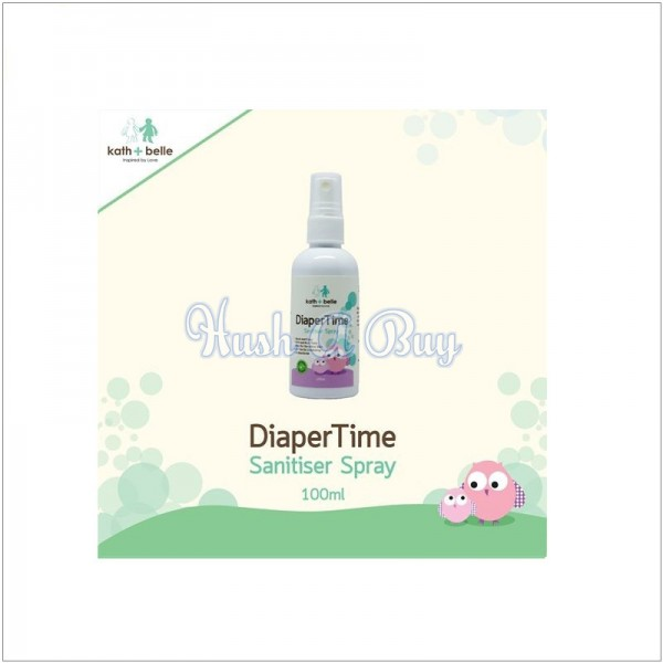 Kath + Belle Diaper Time Sanitiser Spray
