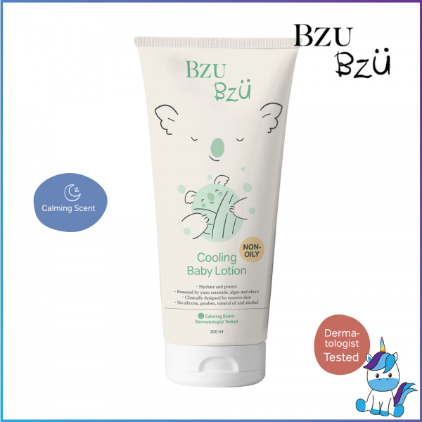 BZU BZU Baby Cooling Lotion 200ml - Product of Singapore Made in Malaysia