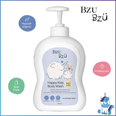 BZU BZU Happy Kids Body Wash 600ml - Product of Singapore Made in Malaysia
