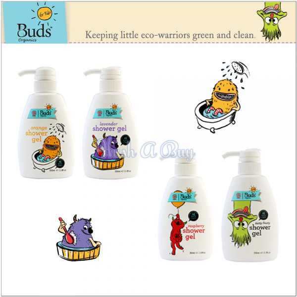 Buds For Kids Shower Gel