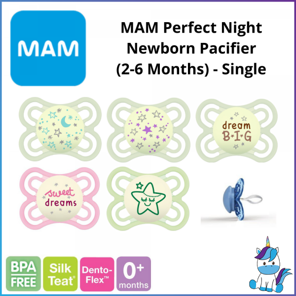 MAM Perfect Night Newborn Pacifier (2-6 Months) - Single