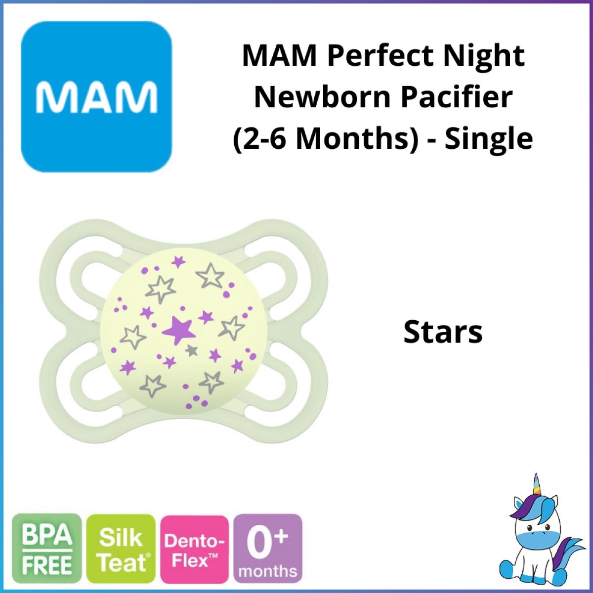 MAM Perfect Night Newborn Pacifier (2-6 Months) - Single