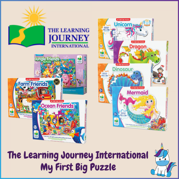 The Learning Journey International My First Big Floor Puzzle (2+ Years Old)