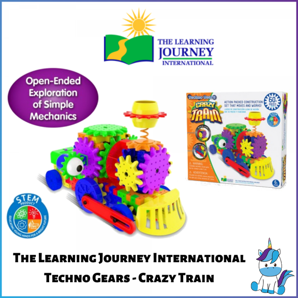 The Learning Journey International Techno Gears - Crazy Train (3+ Years Old)