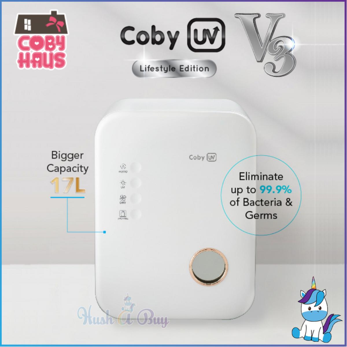Coby UV V3 Waterless Germ Eliminator - UV Sterilizer [1+1 YEAR WARRANTY]