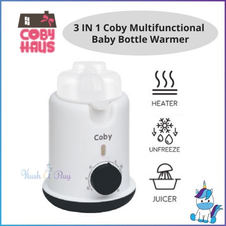 Coby 3 IN 1 Multifunctional Baby Bottle Warmer [1 YEAR WARRANTY]