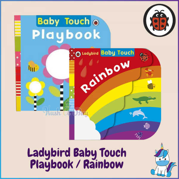 Ladybird Baby Touch - Playbook / Rainbow [Suitable for 1 Year and Above]