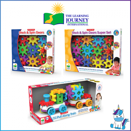 The Learning Journey International Techno Kids - Stack and Spin (Age 2+)