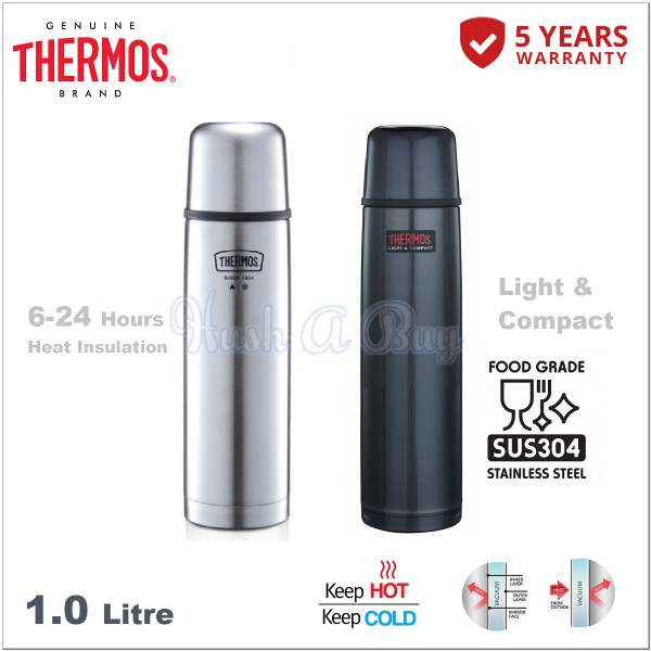 Thermos Most Durable FBB Series Light & Compact Flask 1.0L