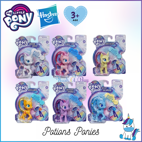 Hasbro My Little Pony Potions Ponies Toys Collection Set (Age 3+) - Kids Toys and Games