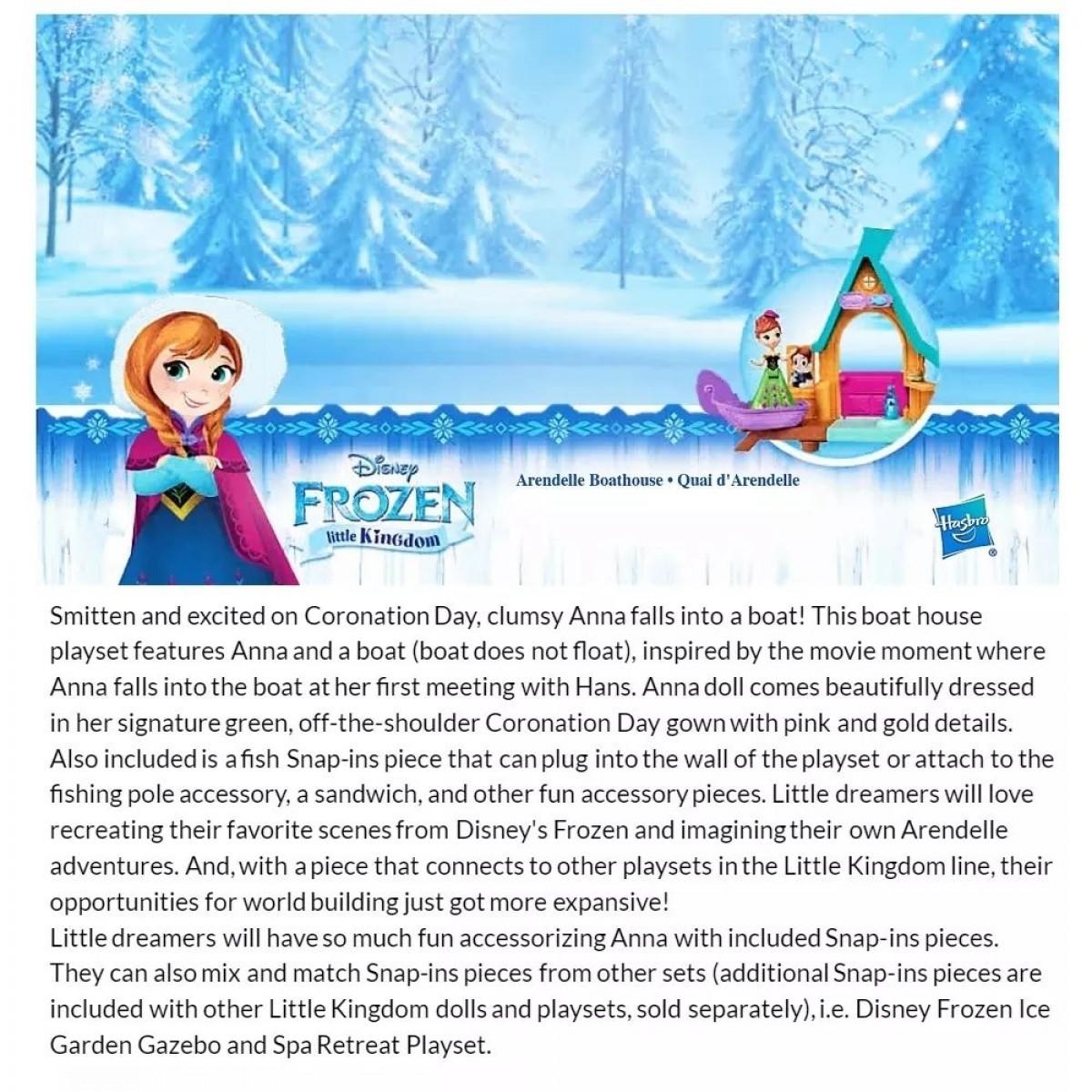 Hasbro Disney Frozen Little Kingdom Series Mini Playset Toys (Age 3+) - Kids Toys and Games