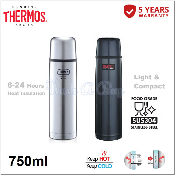 Thermos FBB Series Light & Compact Flask 750ml
