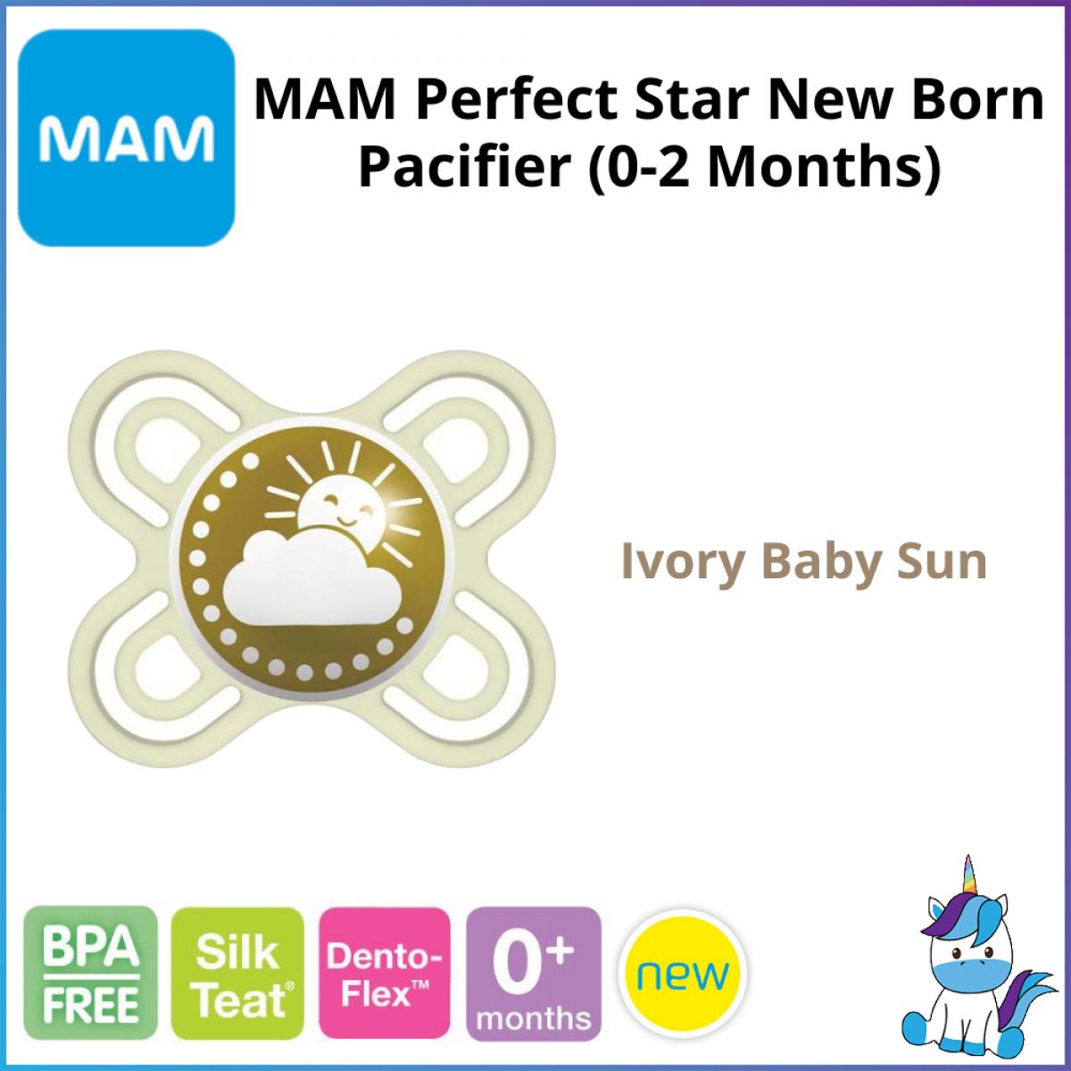 MAM Perfect Start Newborn Baby Pacifier (0-2months) - Single