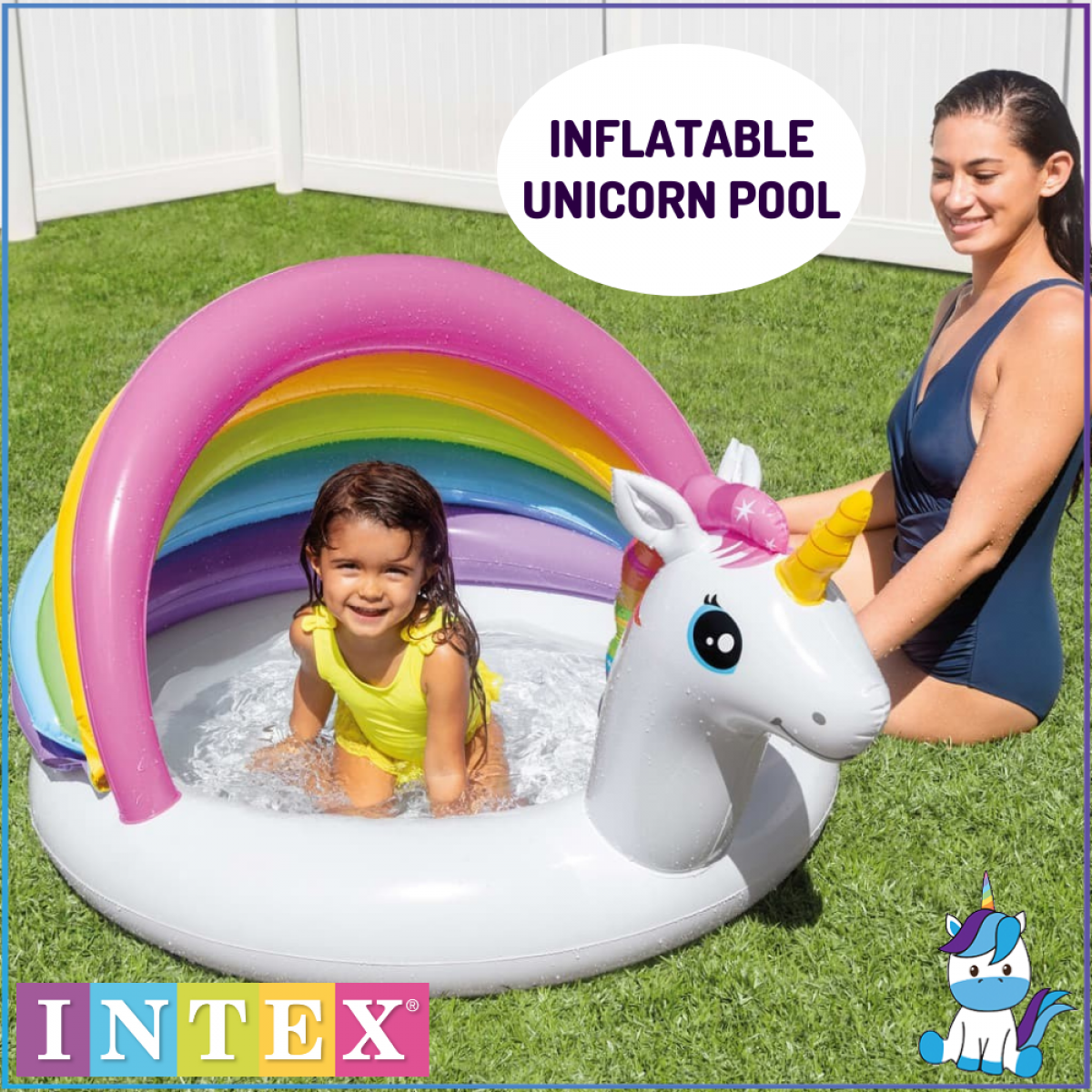 Intex Children Inflatable Pool or Ride-On - Swimming Pool / Baby Pool / Baby Float - Kids Outdoor Play
