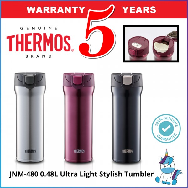 Thermos JNM-480 Ultra Light Stylish Tumbler 0.48L - Thermos Flask / Tumbler - Keep Warm and Cold
