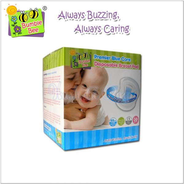 Bumblebee Premier Blue Core Disposable Breast Pads (36pcs)