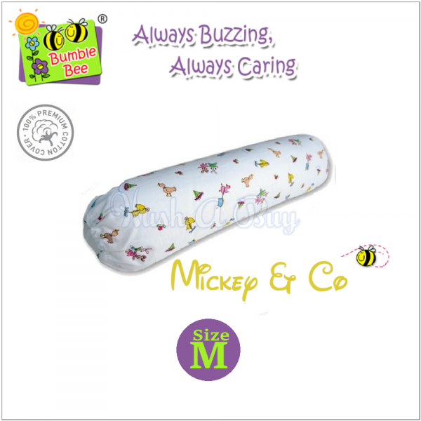 Bumble Bee Bolster with casing (Size M)