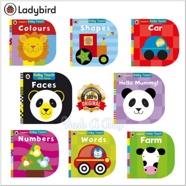 Ladybird Baby Touch & Feel Board Book