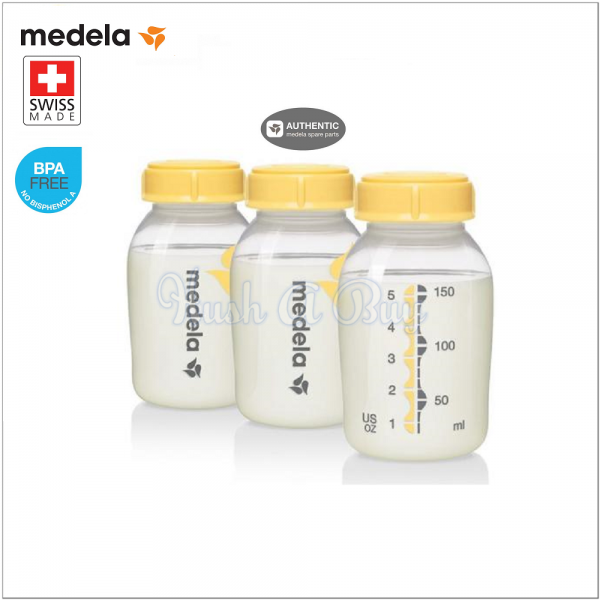 Medela Breastmilk Storage Bottle 150ml (3-in-1)