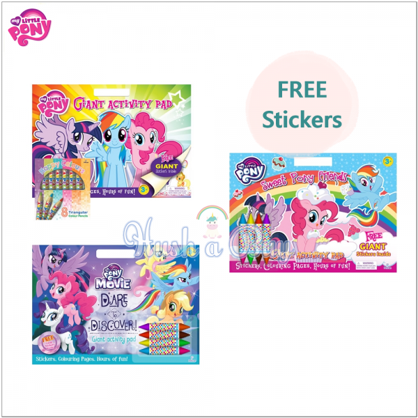 My Little Pony: Giant Activity Pad with Stickers