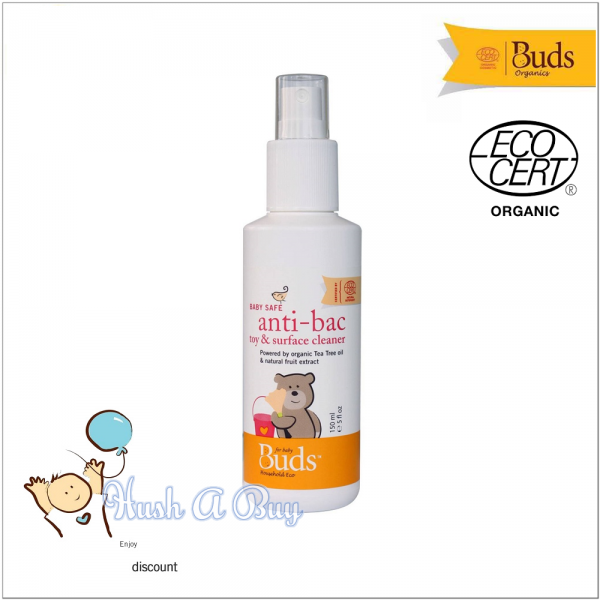 Buds BHE Baby Safe Anti-bacteria Toy & Surface Cleaner 150ml