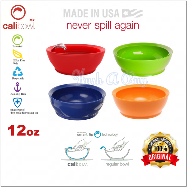 CaliBowl 12oz Non-Spill Bowl (Loose Pack)