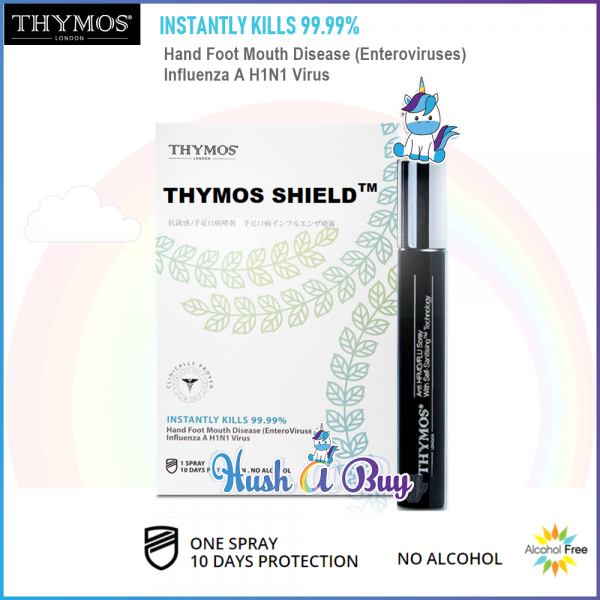 THYMOS Shield - Anti-HFMD/FLU Spray 10ml