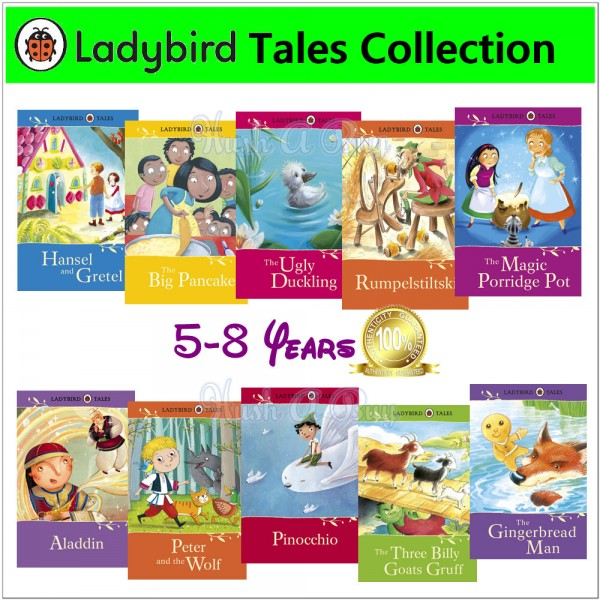 Ladybird Tales Collection 1 (10 Books)