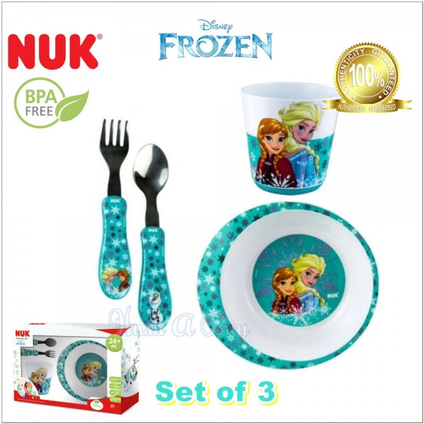 NUK Tableware Set - Disney Frozen